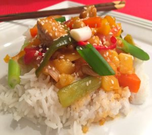 Sweet & Sour Pineapple Pork