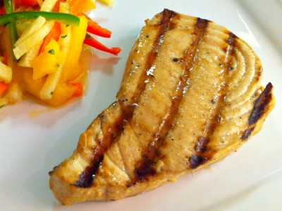 Grilled Marlin Steaks