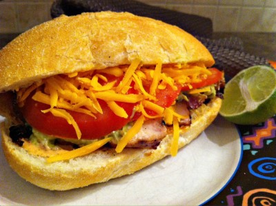 Mexican Chicken Submarine