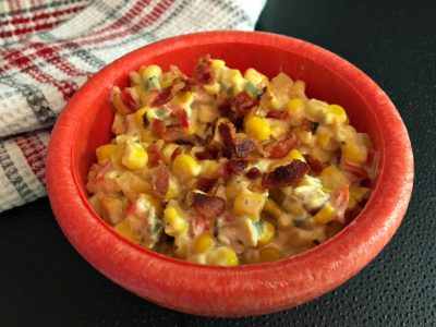 Smoky Bacon Cream Corn