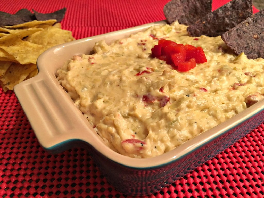 Crab Artichoke Pepper Dip