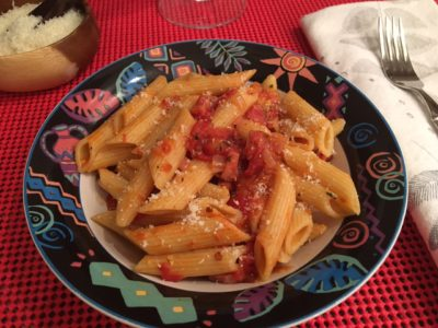 Spicy Sausage Penne all'Arrabbiata