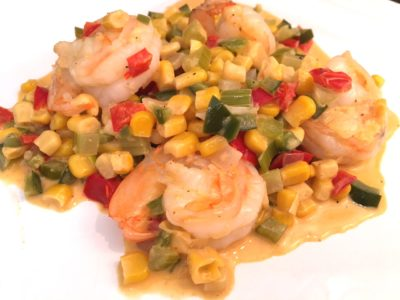 Shrimp Maque Choux