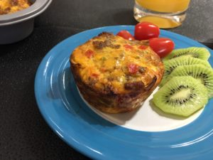 Breakfast Sausage Muffin Cups